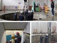 陕西水电二郎坝发电公司葫芦头电站 提前完成三号机组B级检修