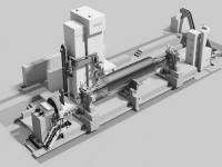 单机加工发电机组转子和汽轮机转子