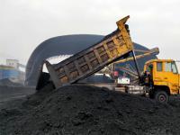 """发电分公司煤场汽运煤首次内转,为机组配""""粮"""""""