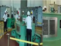 茄子山电厂2号发电机组顺利并网发电