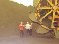 国泰发电公司对输煤区域防汛及安全文明进行检查