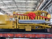 井工设备中心特种车辆维修车间圆满完成了中煤昔阳公司瓦斯发电厂黄岩汇电站