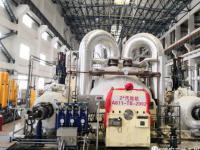 中科炼化动力站2#汽轮机发电机组一次冲转并网成功
