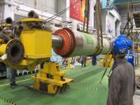 矸电公司402A级检修发电机抽转子工作圆满成功