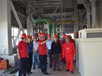 中国石油天然气集团赴苏里格发电公司调研合作