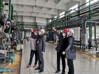 綦江区市场监管局督查公司发电特种设备安全生产工作
