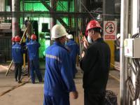 发电作业部8号锅炉中修稳步推进