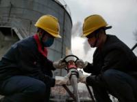 天富发电产业售电公司开展油库消防应急演练
