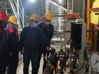 天富集团发电产业胡杨河市保运项目发电机组顺利点火