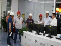 鄂尔多斯蒙泰发电公司一行4人到榆能横山煤电公司调研