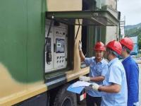 八二一公司组织开展应急发电车实操培训