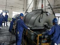 发电一分厂2#TRT透平机组B级检修拉开帷幕