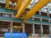 """海外 """"华龙一号"""" 卡拉奇核电K3常规岛发电机定子吊装就位"""