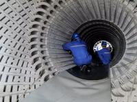 甘肃电投常乐电厂项目1号发电机转子穿装一次成功